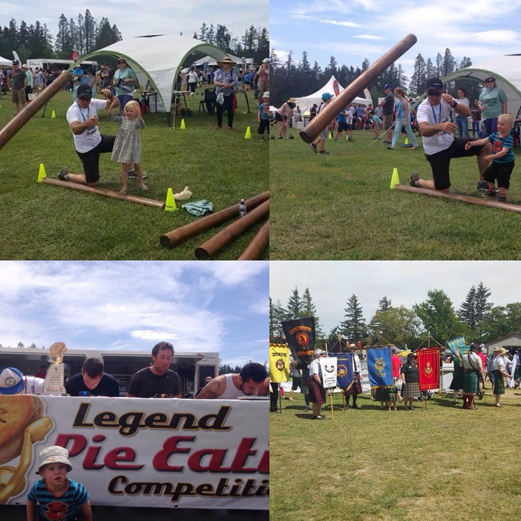 Fun at the Hororata games pinedale scotland